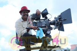 Tamil Movie Adra Machan Visilu Working Gorgeous Stills