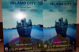 Tannishtha Chatterjee & Vinay Pathak At Trailer Launch Of Film Island City Photos
