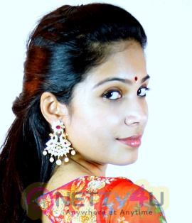 Telugu Actress Vrushali Gosavi Latest Half Saree Photos Telugu Gallery