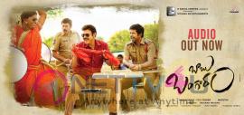 Telugu Movie Babu Bangram Audio Release Posters