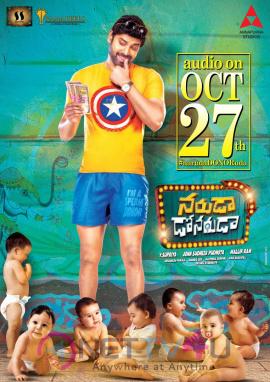 Telugu Movie Naruda Donoruda Audio On Oct 27th Poster Telugu Gallery