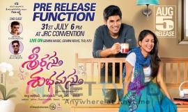 Telugu Movie Srirastu Subhamastu Pre Release Function Poster