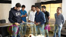 Trivikram Srinivas Launches Avasaraniko Abaddam Movie Theatrical Trailer Dazzling Photos Telugu Gallery