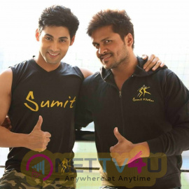 TV Actor Ruslaan Mumtaaz And Sumit Khetan Celebrates Friendship Day Cute Photos Hindi Gallery