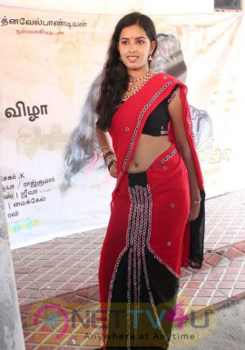 Tamil Actress Bhanusri Show In Saree Exclusive Stills