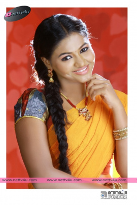 tamil actress shalu in saree