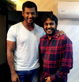 Tamil Movie Achamindri Trailer  Launch By Actor Vishal Beauteous Photos Tamil Gallery