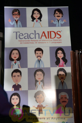 teach aids press meet stills