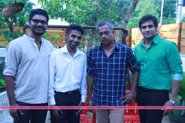 teaser launch of unakkenna vaenum sollu tamil movie by director gautham vasudev menon