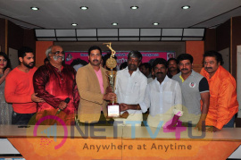 telangana kakatiya cricket cup launch pressmeet photos