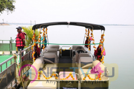Telangana Tourism Catamaran Luxury Yacht Launch Stills Telugu Gallery