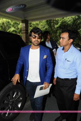 telugu actor ram charan trujet airways press meet pics