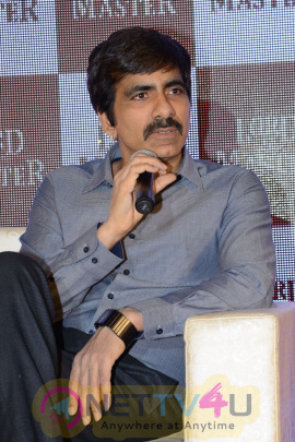 telugu actor ravi teja launches special edition pack of lord a master