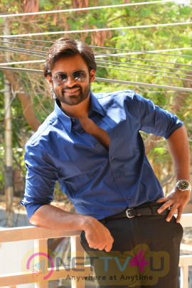 Telugu Actor Sai Dharam Tej Latest Good-looking Stills Telugu Gallery