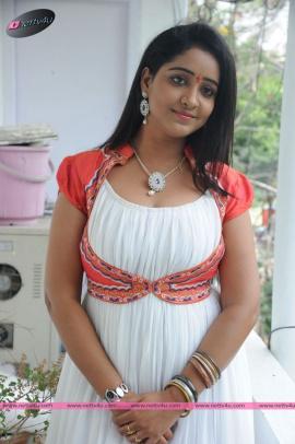 Telugu Actress Aishwarya Addala At Mounam Movie Opening