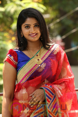 Telugu Actress Mounica Exclusive Photo Shoot Stills