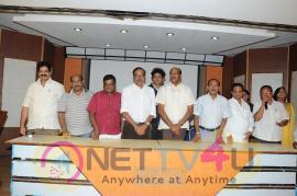 Telugu Film Producers Council Members Press Meet Stills