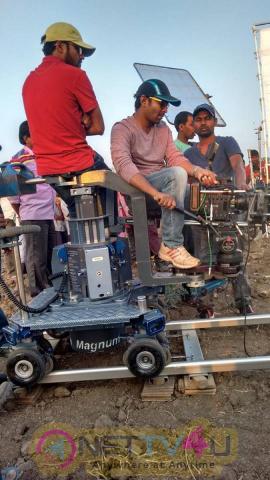 telugu movie bommala ramaram working stills