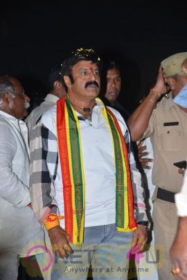 telugu movie dictator success tour photos