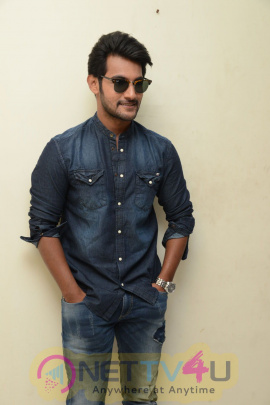 Telugu Movie Hero Aadi Interview Stills