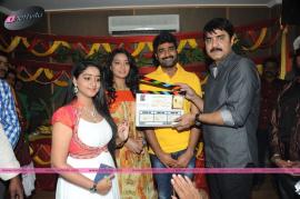 telugu movie mounam opening and pooja stills