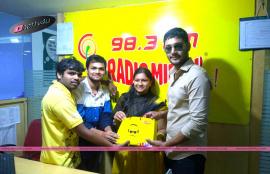 telugu movie where is vidyabalan team at vizag radio mirchi