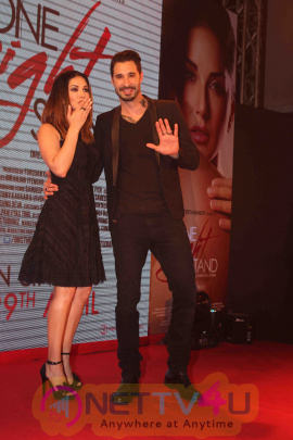 The Trailer Launch Of Sunny Leone And Tanuj Virwani One Night Stand  Stills