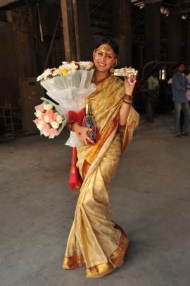 Thikka Film Heroine Larissa Birthday Celebrations Stills