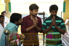 Udhayanidhi At Thenandal Films New Movie Launch Stills Tamil Gallery