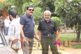 Us & Uk British Council & Director Priyadarshan & Kavitha Sai Prasad Watching In Kabali Movie Show In Prasad Lab Preview Theater
