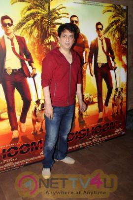 Varun Dhawan & Sajid Nadiadwala At Song Launch Of Film Dishoom Beauteous Photos Hindi Gallery