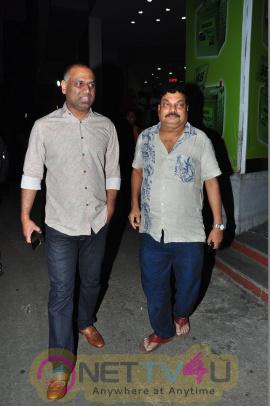 Venkaiah Naidu Watches Brahmotsavam Movie Photos