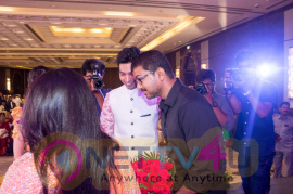 Vijay Attends Jothiram Pavithra Engagement Images Tamil Gallery