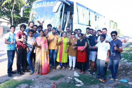 vishal s paandavar ani press meet and election canvas pictures
