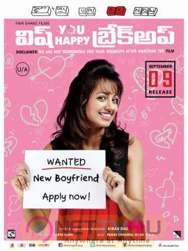 Wish You Happy Breakup Movie Release Date Posters Telugu Gallery