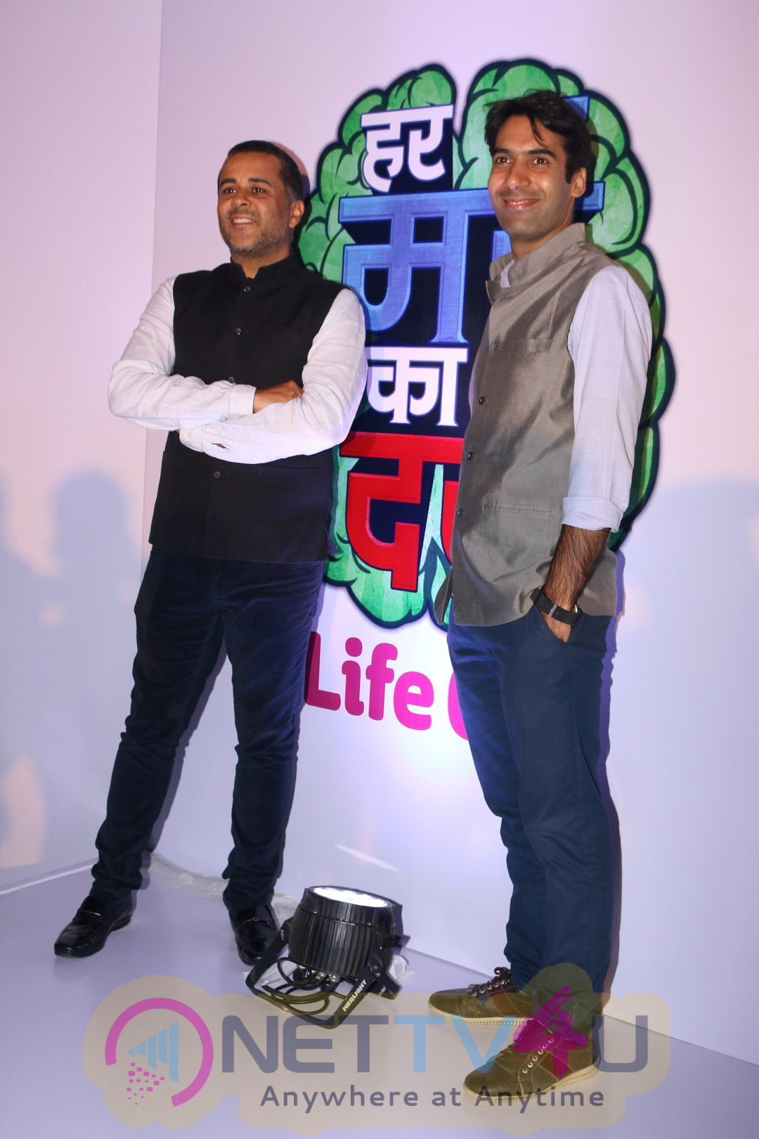 Chetan Bhagat At Book Launch Of Life Ok Show Har Mard Ka Dard Stills