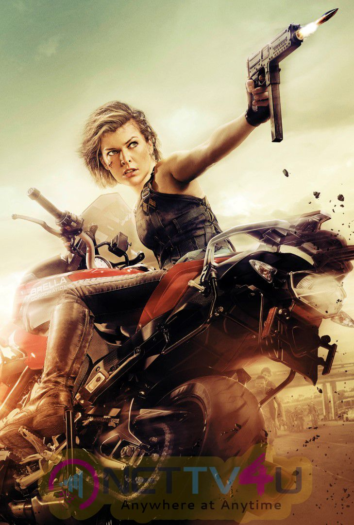 Resident Evil Movie High Quality Photo Shoot Images English Gallery