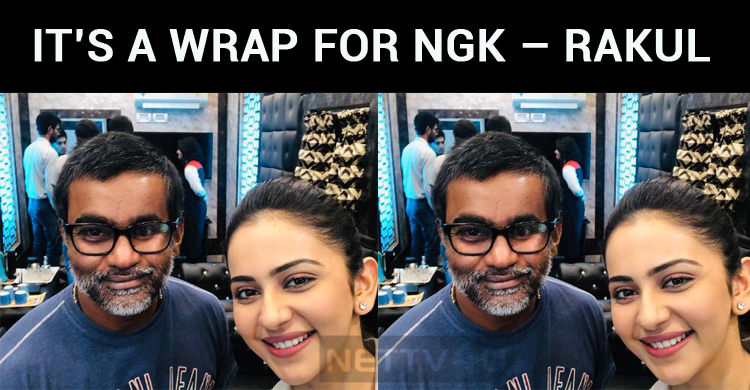 It's A Wrap For NGK – Rakul