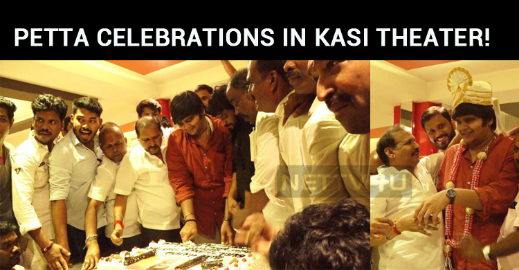 Petta Celebrations In Kasi Theater! Karthik Subbaraj Honored!