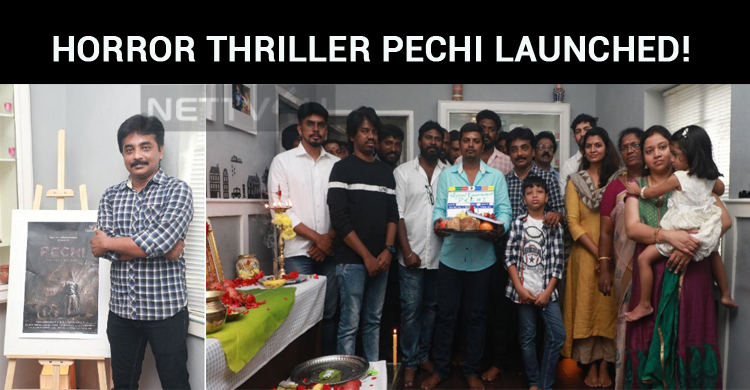 Supernatural Horror Thriller Pechi Launched!