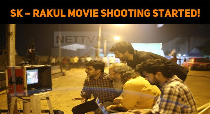 Sivakarthikeyan – Rakul Preet Singh Movie Shoot..