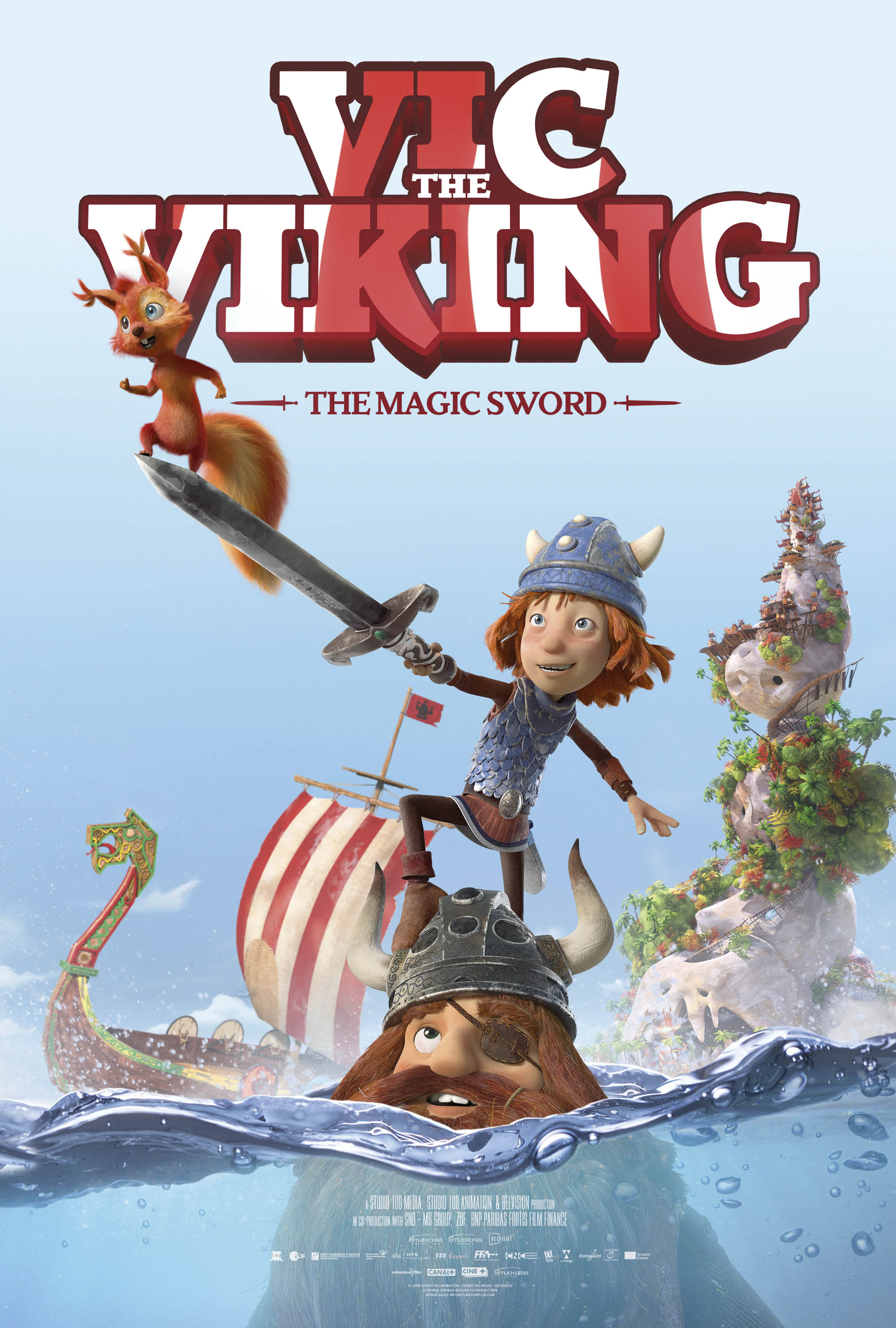 Vic The Viking And The Magic Sword Movie Review