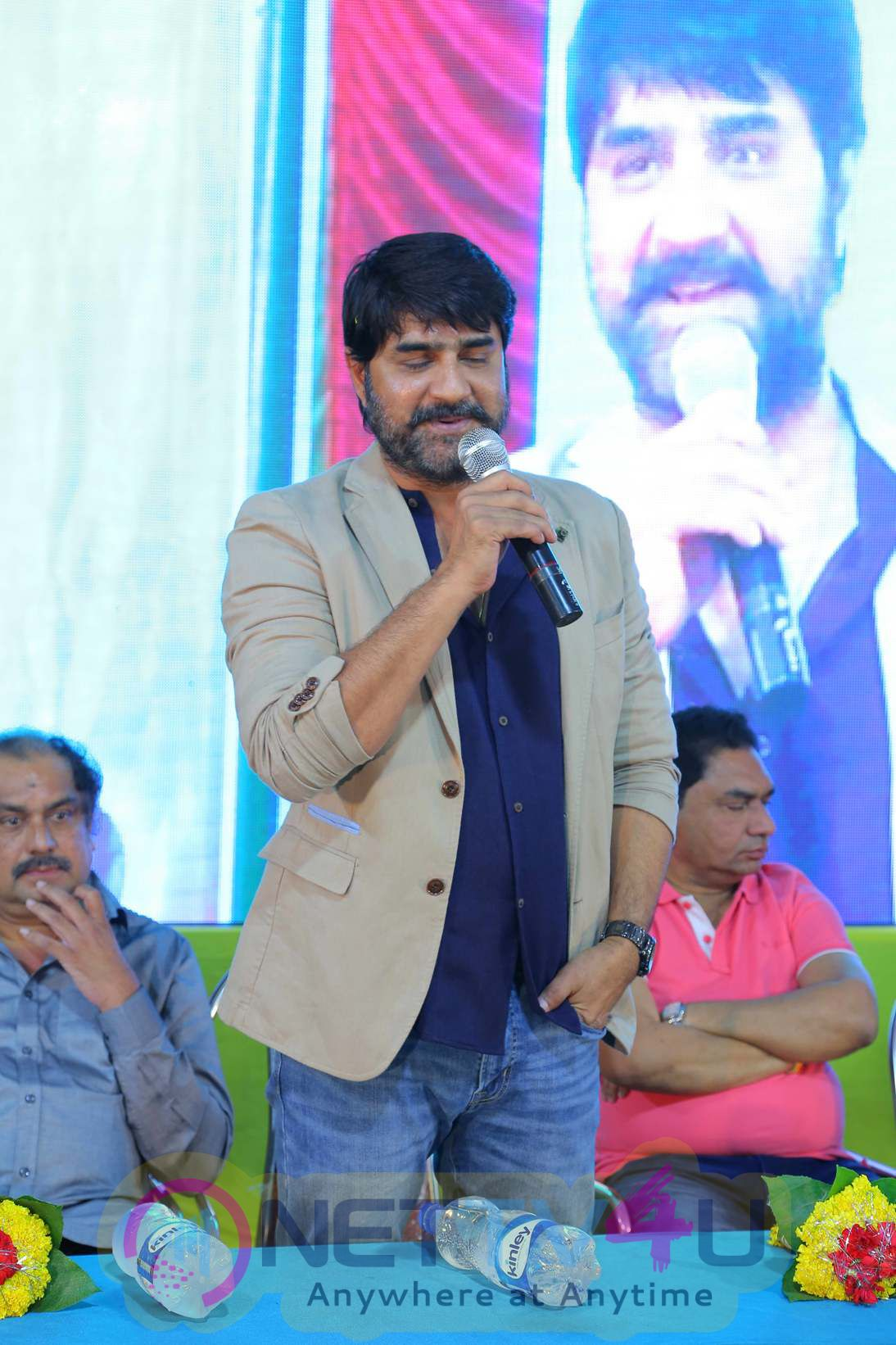 Chiranjeevi Launches Srikanth Raa Raa Movie First Look Poster.