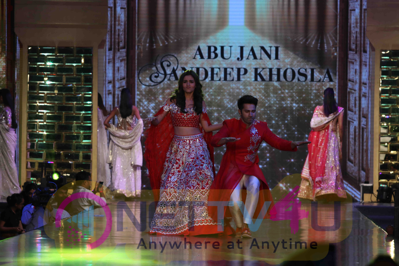 Big B, Alia And Varun Walk The Ramp At 12th Annual Caring With Style Fashion Show  Stills Hindi Gallery