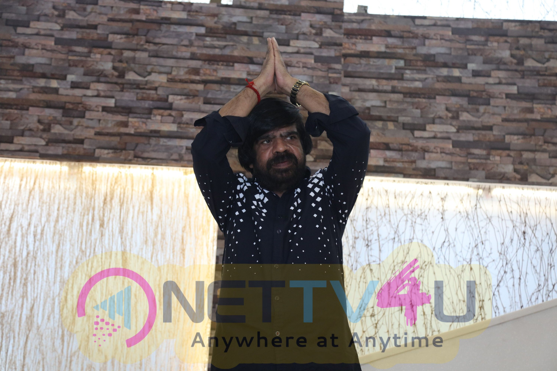 Actor T Rajendar Press Meet Images
