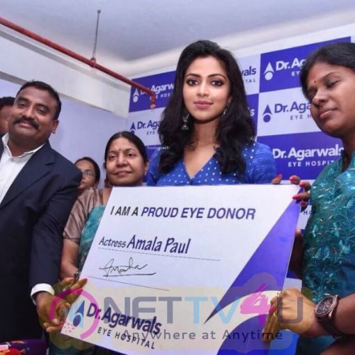 Actress Amala Paul Inaugurates Agarwal Eye Hospital At Pondicherry Pics Tamil Gallery