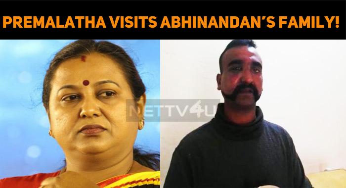 Premalatha Visits Abhinandan's Family!