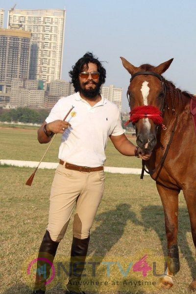 Randeep Hooda Is Show Jumping At Race Cource Photos