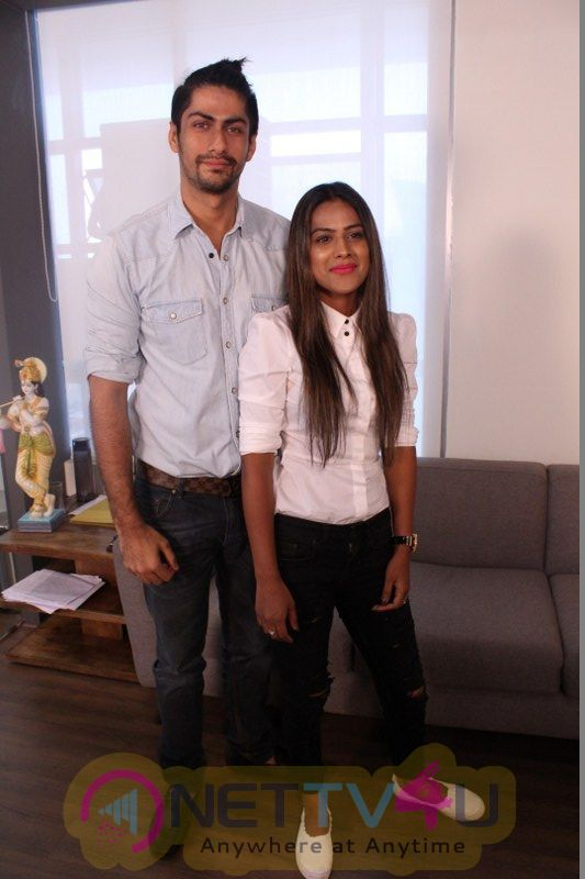 Interview With Nia Sharma & Namit Khanna For Web Series Twisted