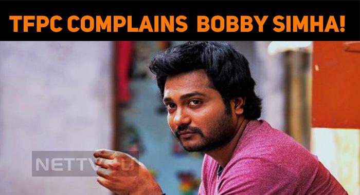 Producer Council Files A Complaint Against Bobby Simha!